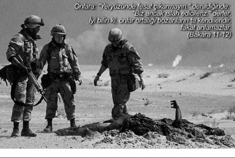 Amerikan askerleri acımasızca...
