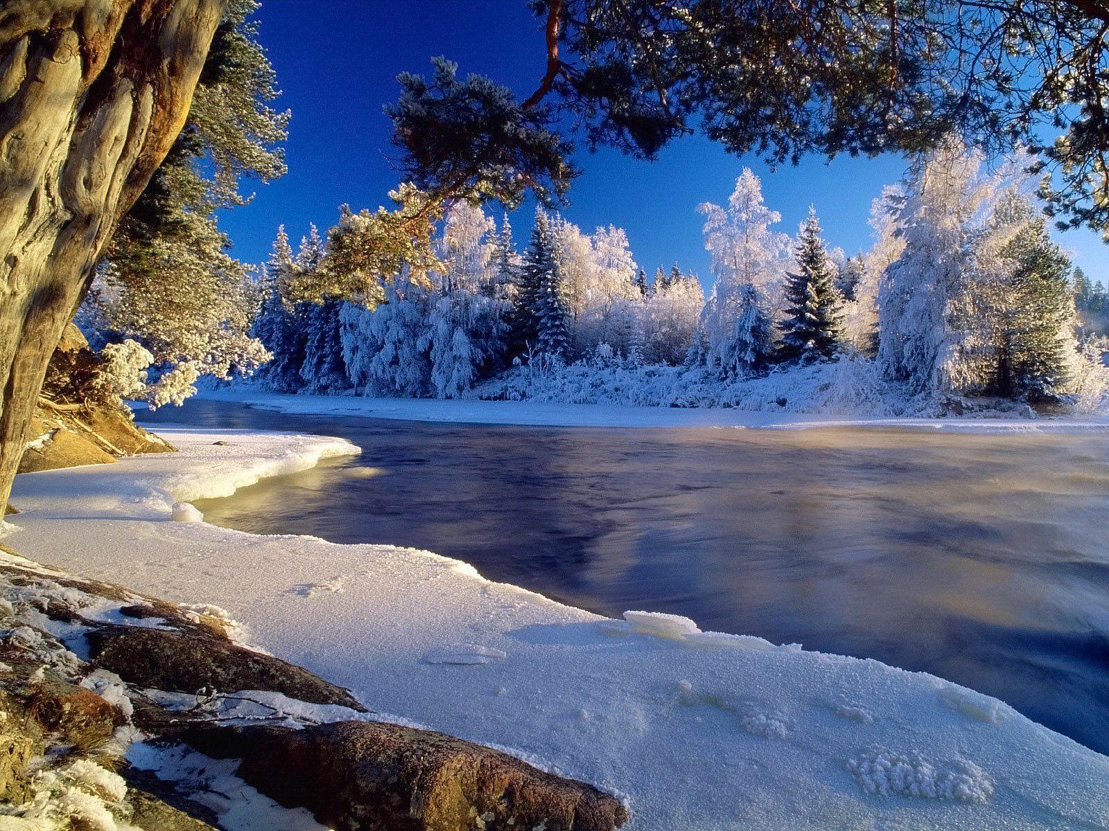 manzara kışın
