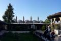 Mevlana müzesi - Panoroma - Panoromik bahçe görüntüsü