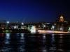 istanbul galata köprüsü gece manzarası